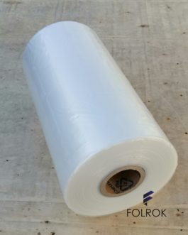 400 mm / 40 micron LDPE polyethylene film SINGLE WOUND