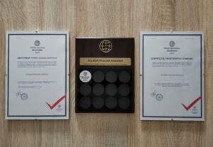 Trustworthy Company Certificate