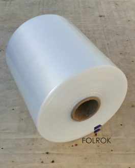 300 mm / 60 micron LDPE polyethylene film SINGLE WOUND