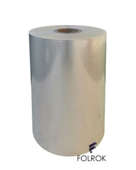 490 mm / 25 micron polypropylene film SINGLE WOUND