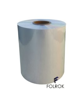 SHRINK FILM POLYOLEFIN 250 MM/15 MICRONS CENTER FOLD