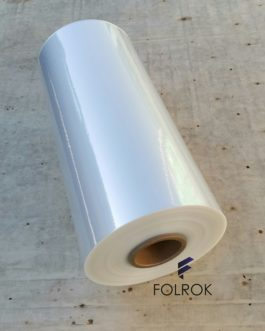 SHRINK FILM POLYOLEFIN 1100 MM/19 MICRONS CENTER FOLD