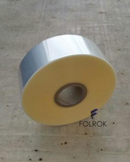 75 mm / 25 micron polypropylene film SINGLE WOUND