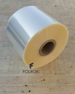 125 mm / 25 micron polypropylene film SINGLE WOUND